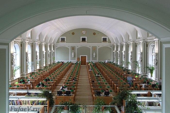 Универсальный читальный зал. Фото: Светлана Мамаева
