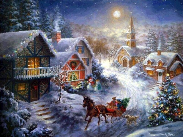 Рождество, http://www.wonderfulnature.ru/statji/Christmas_tradition.php