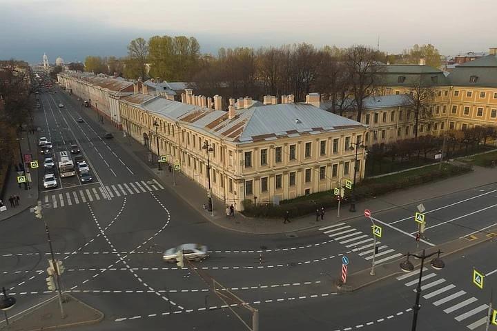 Современный вид Меншиковского дворца. Фото: СПбГУ