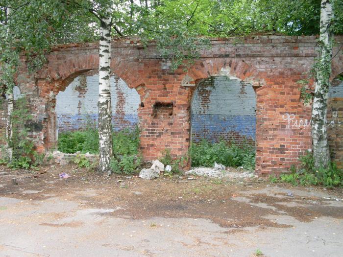 Развалины пороховых складов XIX века в Санкт-Петербурге
