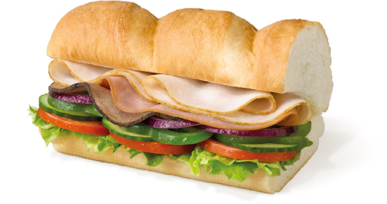 """Subway. Сэндвич """"Сабвэй Клаб""""."""