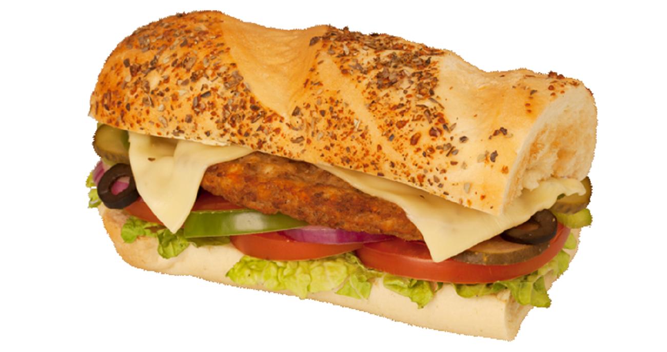 """Subway. Сэндвич """"Биф Клаб мелт""""."""