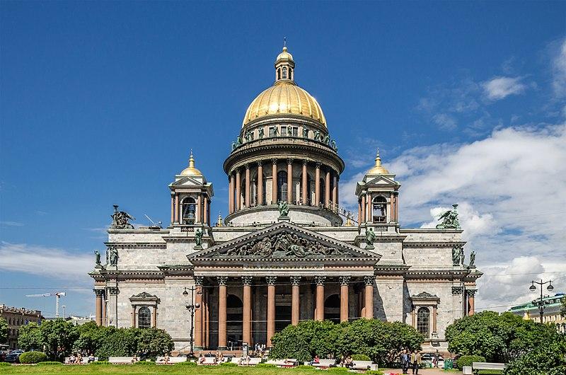Исаакиевский собор на Исаакиевской площади в Санкт-Петербурге. Автор фото: Florstein (WikiPhotoSpace)