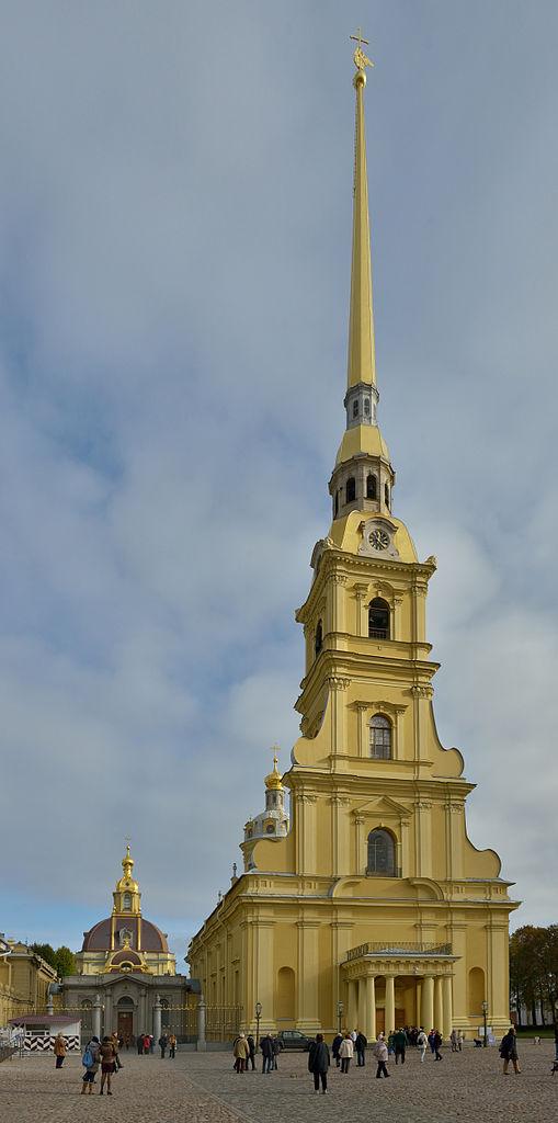 Петропавловский собор. Автор фото: Wolfgang Moroder (Wikimedia Commons)