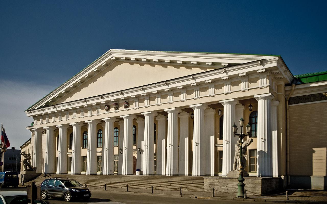 Петербургский Горный институт. Автор фото: Florstein (WikiPhotoSpace)