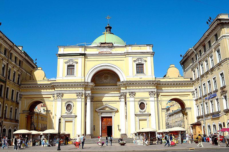 Храм римско-католический церкви Святой Екатерины, источник фото: Wikimdia Commons