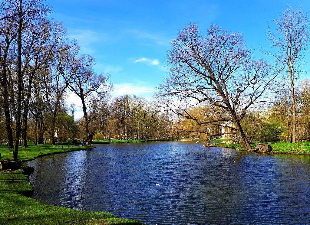 Екатерингофский парк, 6 мая 2018 г. Фото: GAlexandrova (Wikimedia Commons)