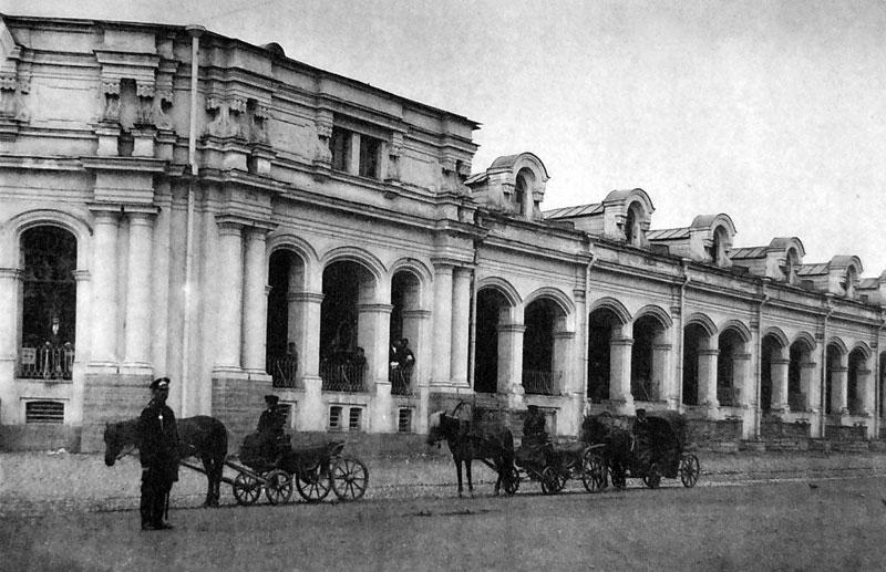 Царское Село, Гостиный двор. 1897 год. Автор: неизвестен (Wikimedia Commons)
