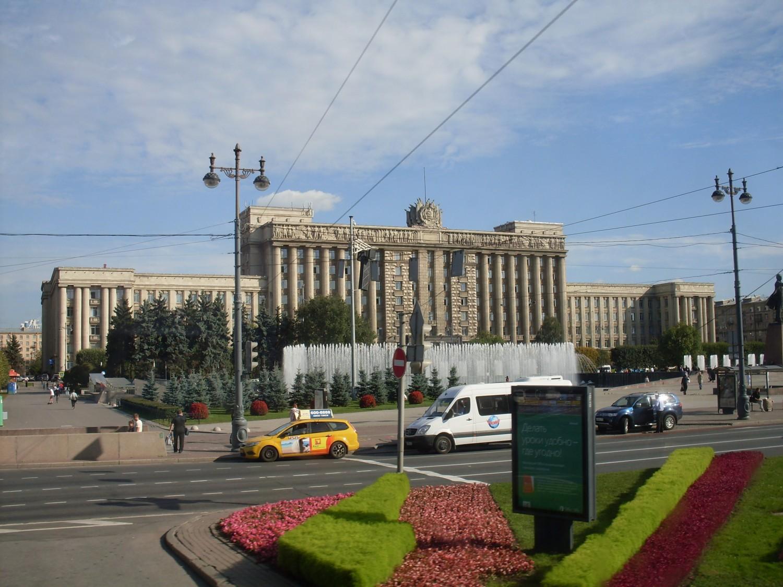 Комплекс фонтанов на Московской площади. Автор: astraya, Peterburg.center