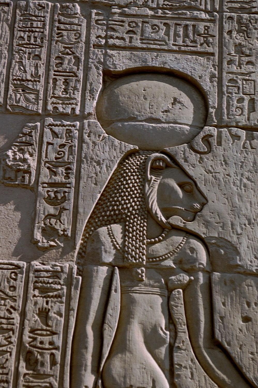Богиня Сехмет, храм Себека. Источник: https://en.wikipedia.org