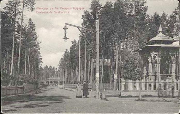 Сестрорецкий Курорт до 1917 г. (Wikimedia Commons)