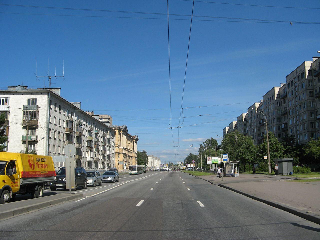 Шоссе Революции в Санкт-Петербурге. Автор фото: Екатерина Борисова (Wikimedia Commons)
