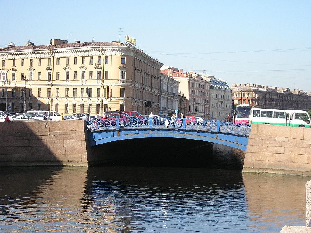 Синий мост. Автор фото: AnneHu (Wikimedia Commons)
