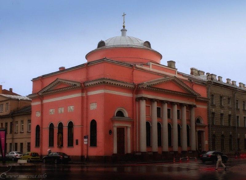 Скорбященский храм на Шпалерной улице. Фото: vk.com/bcexnashpalernoj