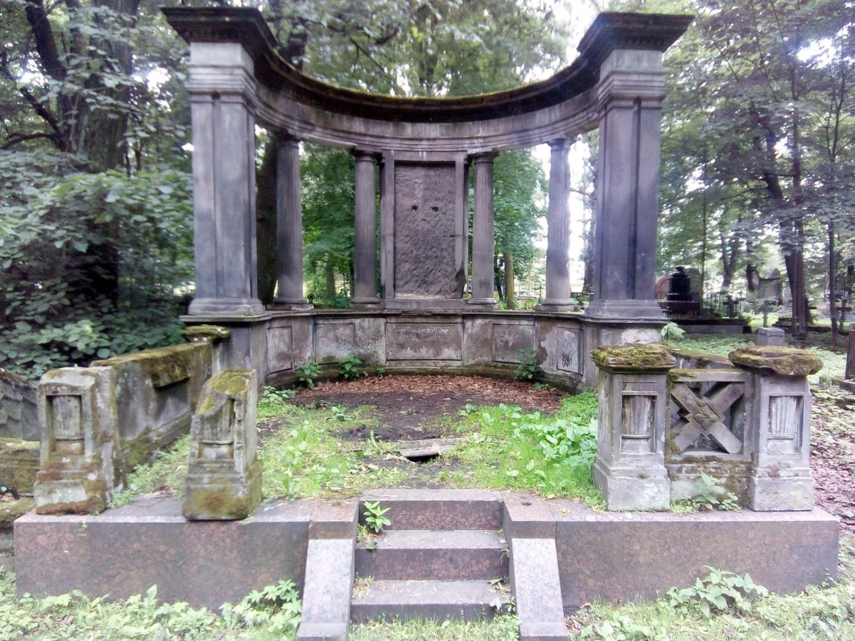 Смоленское кладбище, фото с сайта M.2gis.ru