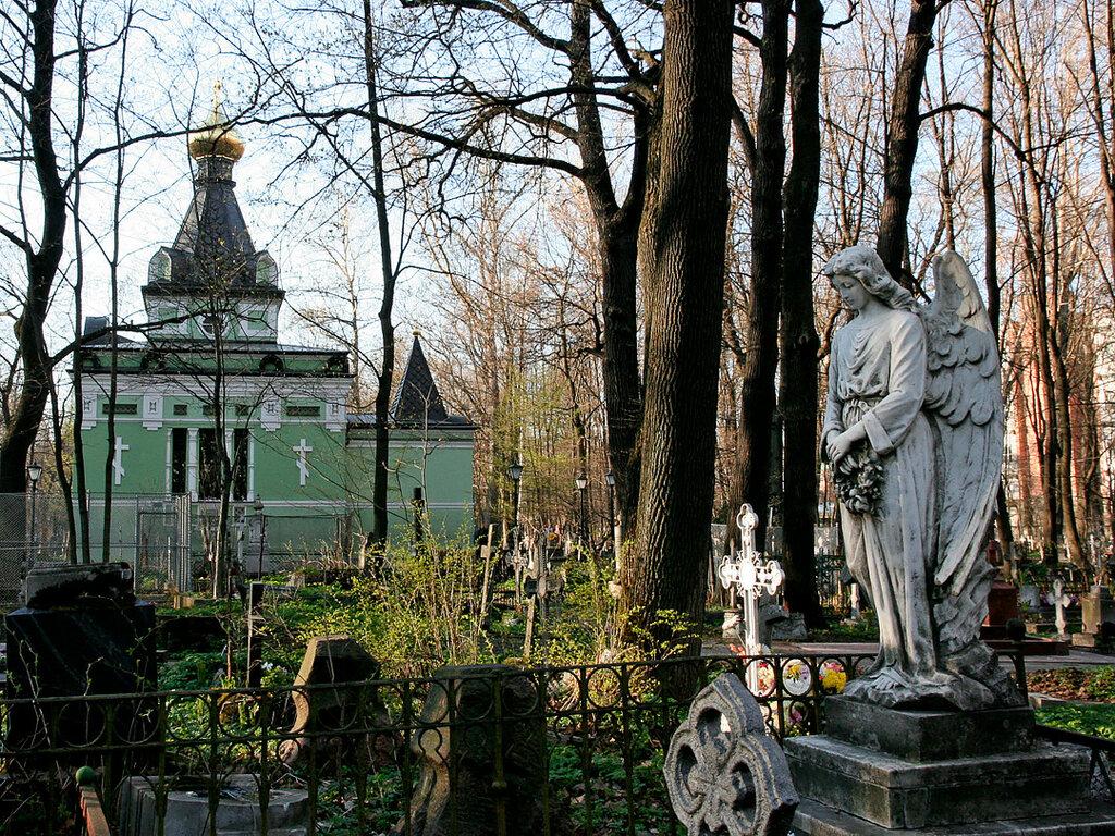 Смоленское кладбище, фото с сайта Begemusja.livejournal.com