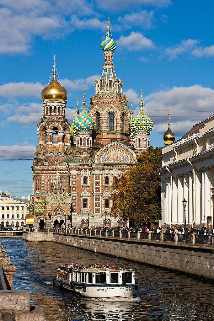 Канал Грибоедова. Спас на Крови. Автор фото: AndreyWi (Wikimedia Commons)