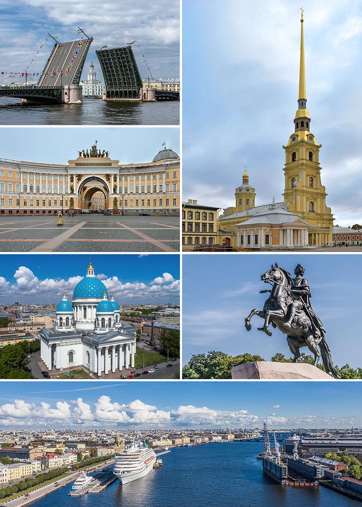 Виды Санкт-Петербурга. Фото: Alex Florstein (WikiPhotoSpace)