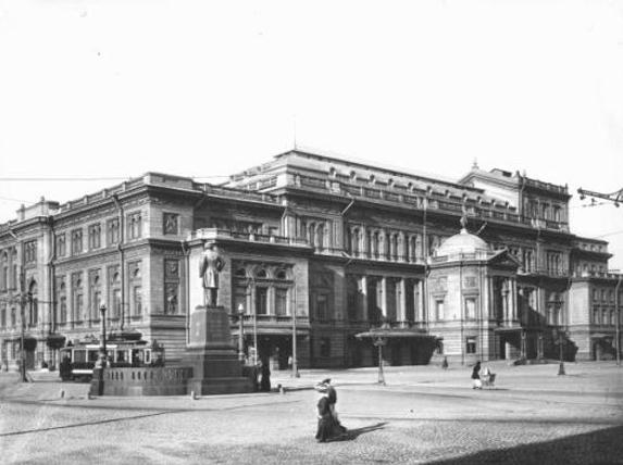Санкт-Петербургская консерватория, 1913 г. Автор: Kaganer, Wikimedia Commons