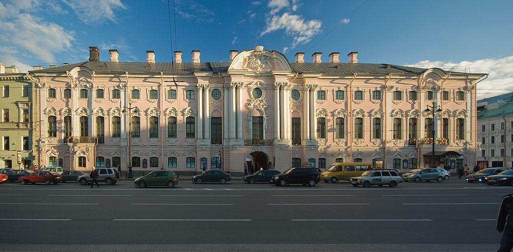 Строгановский дворец. Автор фото: George Shuklin (talk) (Wikimedia Commons)