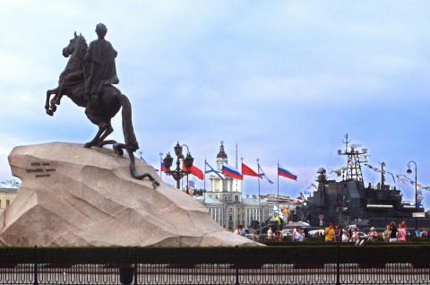 День Военно-Морского Флота, Санкт-Петербург, источник фото: Wikimedia Commons Автор: Андрей Крижановский
