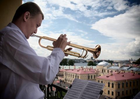 фестиваль «Воскресные мелодии трубы», источник фото: spbculture.ru