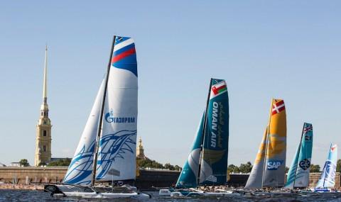 Extreme Sailing Series™ в Петербурге, источник фото: стена сообщества