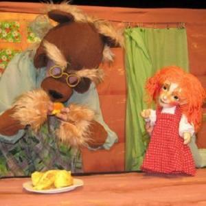 Кукольный спектакль «Маша и Медведь», источник фото: https://vk.com/event102644353