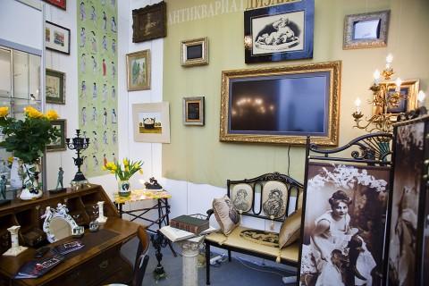 "Петербургский Салон ""Антиквариат"", источник фото: http://kollekcioner-spb.ru/antikvariat/"