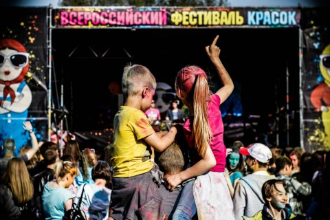 Всероссийский Фестиваль красок – Санкт-Петербург, источник фото:  https://vk.com/colorsfest