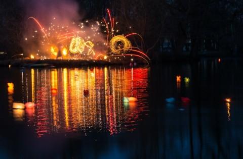 """Фестиваль Водных огней """"Лой Кратонг"""", источник фото: https://vk.com/water_fest Автор: Артем Сергеев"""