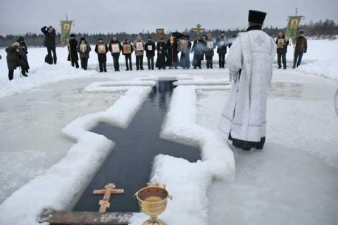 Крещенский праздник и крещенская иордань, источник фото: https://vk.com/iordany