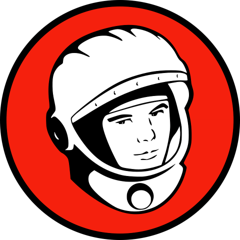 Космонавт Юрий Гагарин, источник фото: https://pixabay.com/ru/космонавт-юрий-гагарин-россию-154566/