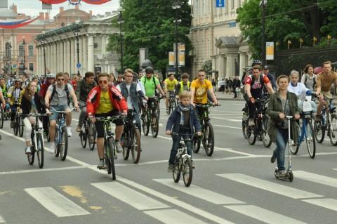 Большой велопарад, 28 мая, источник фото: https://vk.com/maycycling Автор: Алексей Устименко
