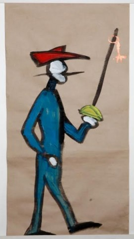 """Галерея Navicula Artis. Открытие 5-й биеннале """"Фехтование в искусстве"""", источник фото: https://vk.com/p10artcentre"""