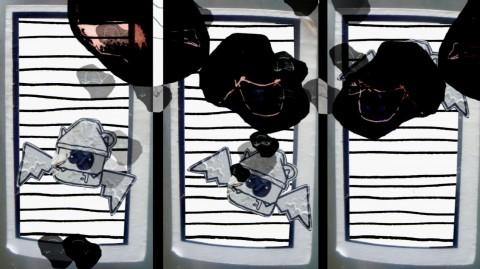 Музей Звука. Patrick K.-H., bestbefore: Mutanys — многоканальная аудиоинсталляция + анимация, источник фото: http://www.p-10.ru