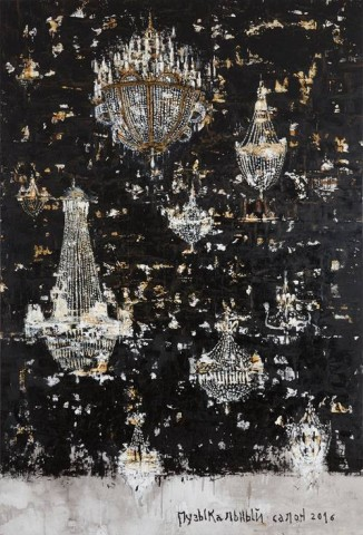 """Выставка """"Музыкальный салон"""" и другие картины Пьеро Пицци Каннеллы, источник фото: https://vk.com/public67940544"""