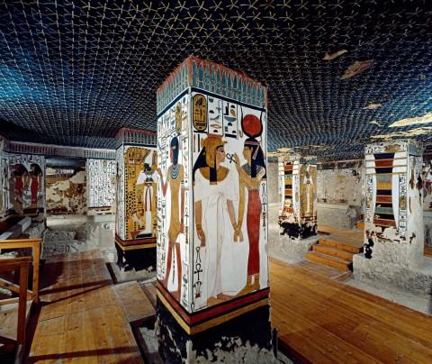 Гробница царицы Нефертари, источник фото: http://www.nationalgeographic.com.es/historia/grandes-reportajes/la-tumba-de-la-reina-nefertari_9678/4