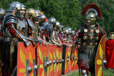 """Античный фестиваль """"Один день в Древнем Риме"""", фото из ВК"""
