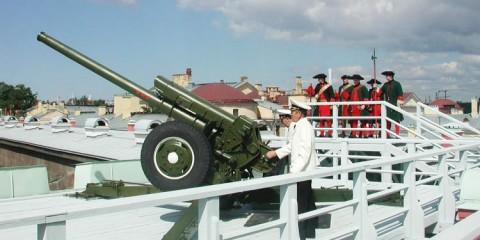 Концерт военных духовых оркестров на 9 площадках в Петропавловской крепости