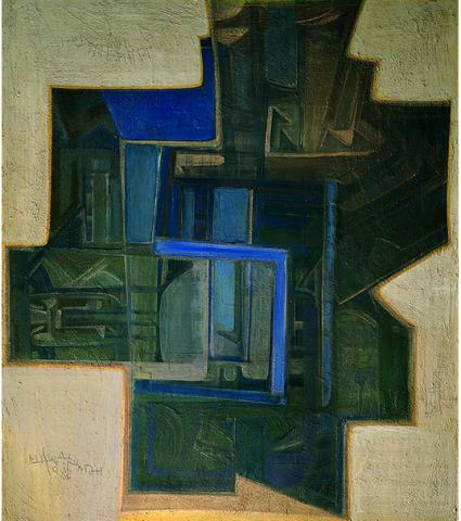 Михаил Шварцман. Двери неба. 1988