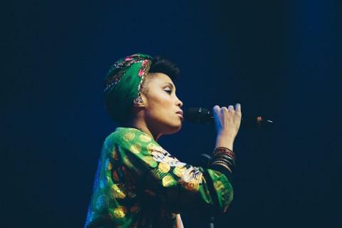 Концерт Imany в A2 Green Concert. Автор фото: Наталья Надеждина