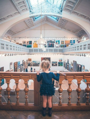 Выставочный Центр Союза Художников. Фото: Агата Мозговая