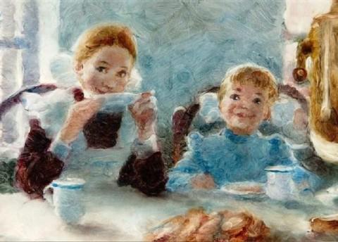 """Выставка Александра Петрова """"Моя любовь. Сотворение фильма"""", источник vk.com/erarta"""