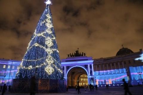 Новый год в Санкт-Петербурге. Фото: http://www.spb.aif.ru