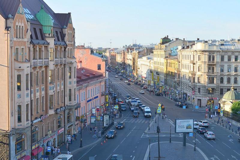 Владимирский проспект. Фото: Андрей Бобровский