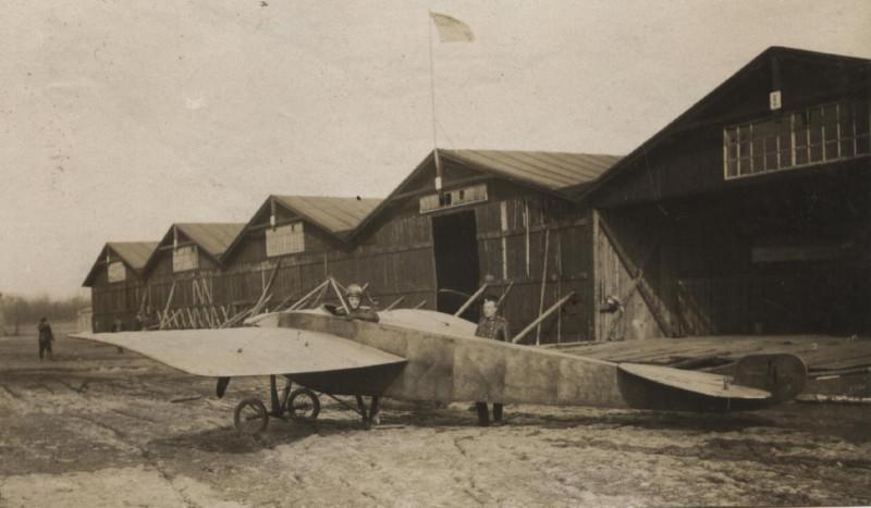Российская авиация, Гатчина, 1913 г. Фото: авиару.рф