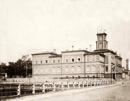 Первое здание ГФО. Фото: web.archive.org