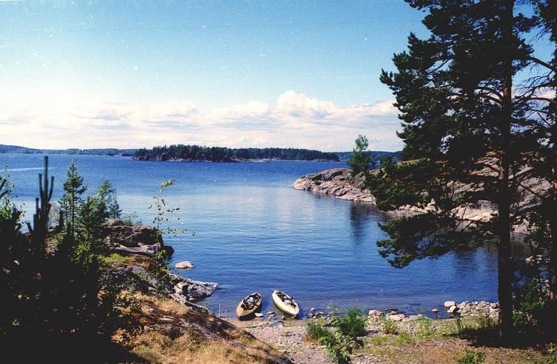 Ладожское озеро. Фото: Vitold Muratov (Wikimedia Commons)