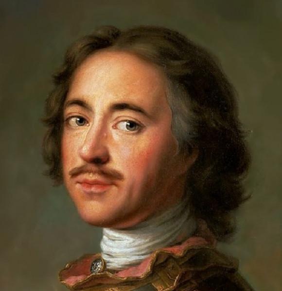 Натье, Жан-Марк Портрет Петра I, 1717 г.